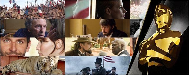 Oscars 2013. Todas las nominadas (guía para seguir la gala por televisión)