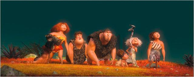 &#39;Los Croods&#39; y su prehistoria conquistan la taquilla
