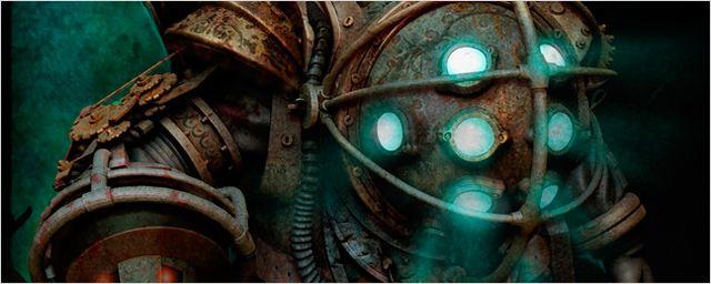 Asi iban a ser los Big Daddies de la película 'BioShock' de Gore Verbinski