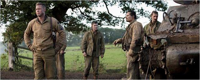 'Corazones de acero': ¡Tráiler en castellano de la nueva película de Brad Pitt!