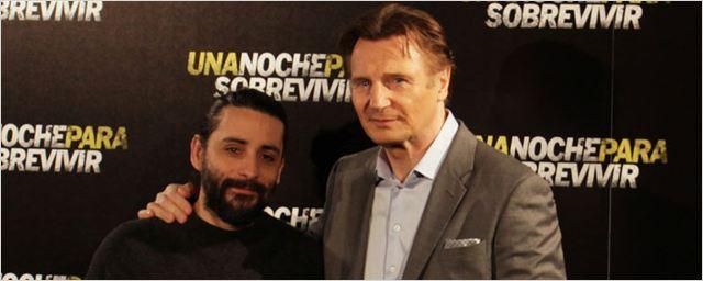'Una noche para sobrevivir': Imágenes de la presentación con Liam Neeson y Jaume Collet-Serra
