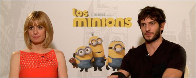 Entrevista a Quim Gutiérrez y Alexandra Jiménez de 'Los minions'