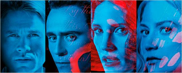 'La cumbre escarlata': Nuevos pósteres con Tom Hiddleston y Jessica Chastain