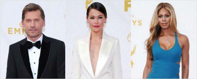 La alfombra roja de los Emmys 2015