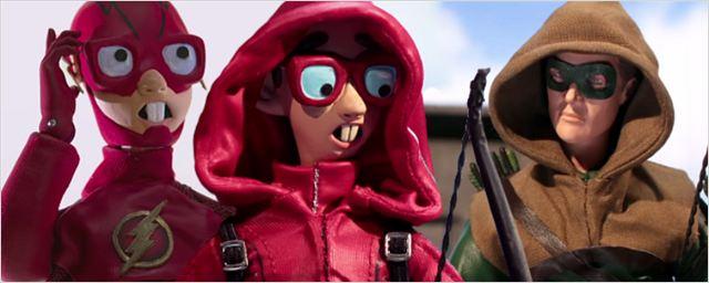 'Robot Chiken' parodia a 'Arrow', 'The Flash', 'Jane the Virgin' y 'Bella y Bestia'