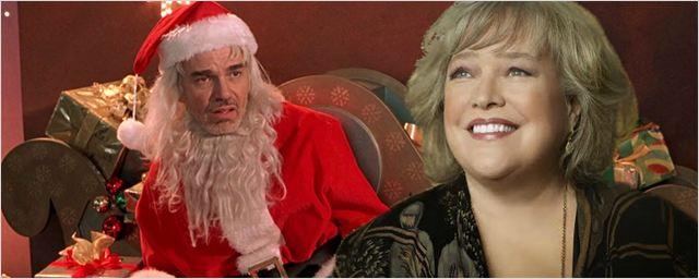 'Bad Santa 2': Kathy Bates se une al reparto como la grosera madre de Billy Bob Thornton