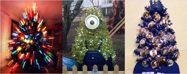 10 árboles de navidad muy frikis para cinéfilos y seriéfilos