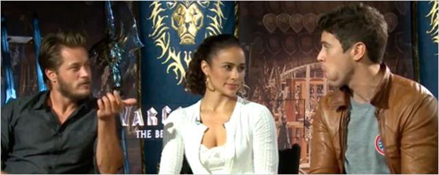 'Warcraft: El origen': Travis Fimmel, Toby Kebbell y Paula Patton nos hablan de la película