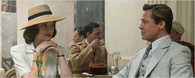 'Aliados': Brad Pitt y Marion Cotillard, un amor lleno de secretos en el primer 'teaser' tráiler