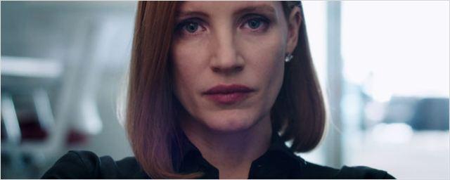 'Miss Sloane': Jessica Chastain se enfrenta a la industria armamentística en el primer tráiler