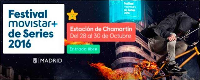Movistar + presenta la programación del Festival de Series 2016 con grandes novedades