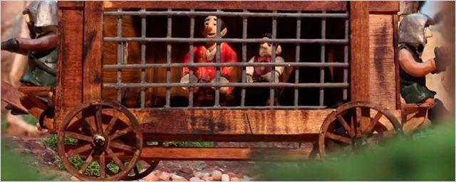 'La Bella y la Bestia': Este corto de animación con figuras de plastilina cuenta cómo se conocieron Gastón y LeFou