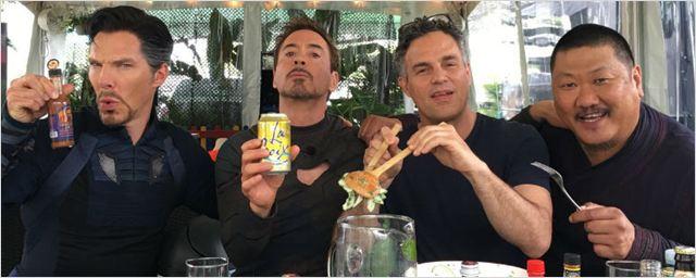 'Vengadores: Infinity War': Nuevas imágenes del rodaje con Doctor Strange, Iron Man y Hulk