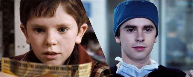 'The Good Doctor': Así ha cambiado su protagonista desde 'Charlie y la Fábrica de Chocolate'
