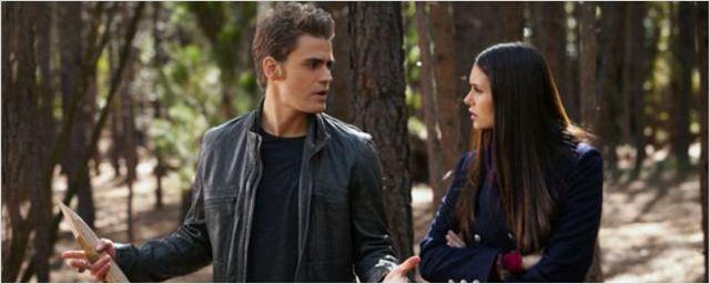 'Crónicas vampíricas': Nina Dobrev se reencuentra con Paul Wesley