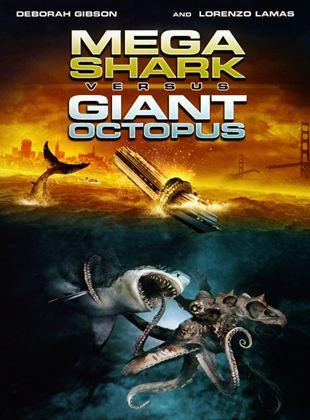 Megatiburón contra pulpo gigante