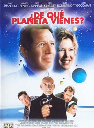¿De qué planeta vienes?