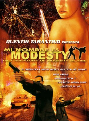Mi nombre es Modesty: Una aventura de Modesty Blaise