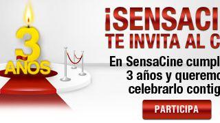Ganadores del primer sorteo: Tercer Aniversario de SensaCine