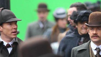 'Sherlock': Nuevas imágenes del rodaje del especial navideño de 2015