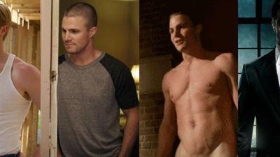 La evolución de Stephen Amell hasta convertirse en 'Arrow'