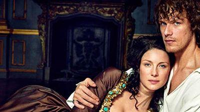 'Outlander': Jamie y Claire, desnudos en las nuevas fotos promocionales de la segunda temporada