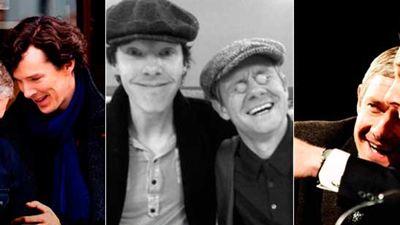 'Sherlock': Así de bien se lo pasan los actores de la serie detrás de las cámaras