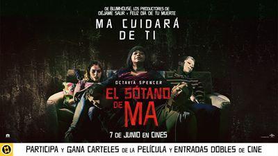 ¡SORTEAMOS CARTELES Y ENTRADAS DOBLES PARA VER 'EL SÓTANO DE MA' EN CINES!