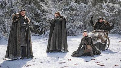 La octava temporada de 'Juego de Tronos' resumida en imágenes inéditas