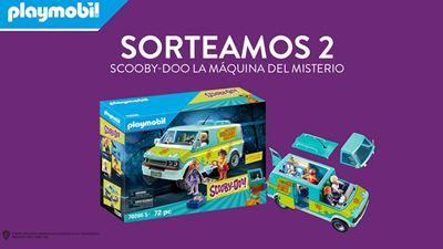Sorteamos 2 packs de Playmobil 'SCOOBY-DOO La Máquina del Misterio'