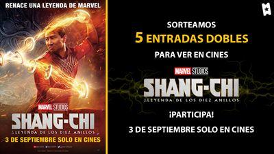 Sorteamos 5 entradas dobles para el preestreno de 'Shang-Chi y la leyenda de los Diez Anillos'