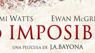 'Lo imposible': Naomi Watts y Ewan McGregor abrazados en el cartel final del filme