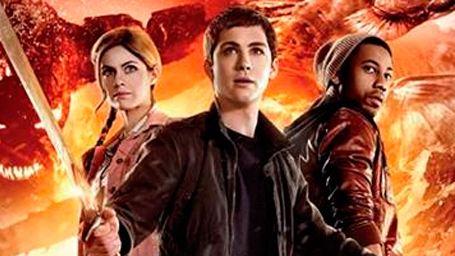 'Percy Jackson 2': ¡Dos nuevos póster con Logan Lerman y los protagonistas!