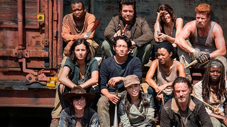 Los protagonistas de 'The Walking Dead' en la quinta temporada
