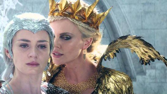 'El cazador y la reina de hielo': Nuevo tráiler en castellano con Chris Hemsworth y Charlize Theron