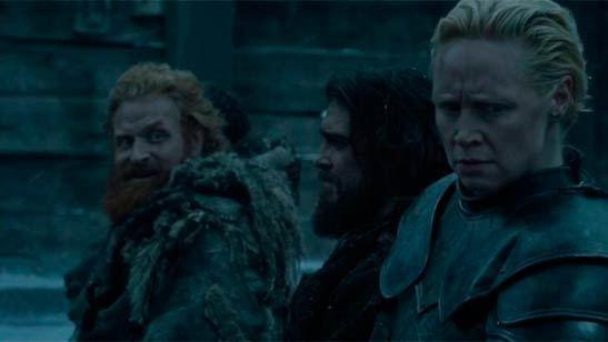 """'Juego de tronos': los mejores memes sobre el """"flechazo"""" de Tormund y Brienne"""