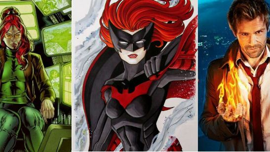 RUMOR:  Oráculo, Batwoman y Constantine aparecerán en las series de CW