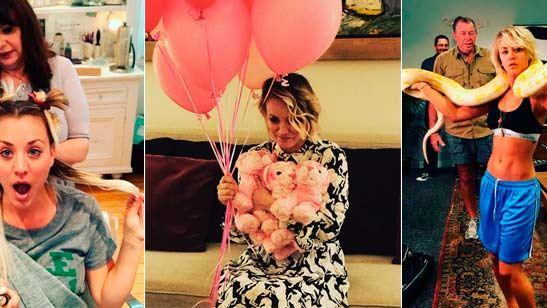 'The Big Bang Theory': 20 imágenes del Instagram de Kaley Cuoco para conocerla fuera de la serie