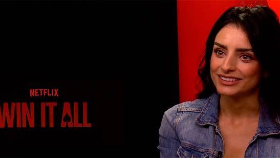 """Entrevista a Aislinn Derbez de 'Win It All': """"Improvisar en esta película ha sido uno de los retos más increíbles"""""""
