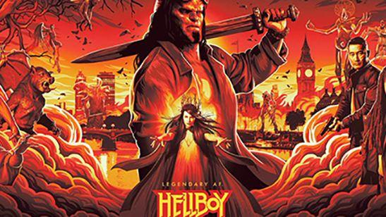 'Hellboy': Los asistentes a la NYCC enloquecen con el primer tráiler del demonio rojo