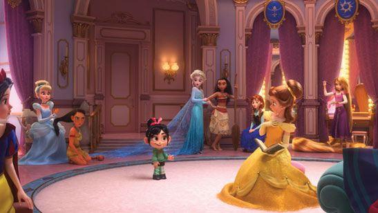 Esta es la princesa que aparece en 'Ralph Rompe Internet' y no es de Disney
