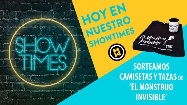 ¡Sorteamos camisetas y tazas de 'El monstruo invisible' para fans de 'Showtimes'!