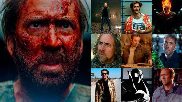 De 'Arizona Baby' y 'La Roca' a 'Mandy' y 'Spider-Man: Un nuevo universo'. La redacción de SensaCine elige sus películas favoritas de Nicolas Cage