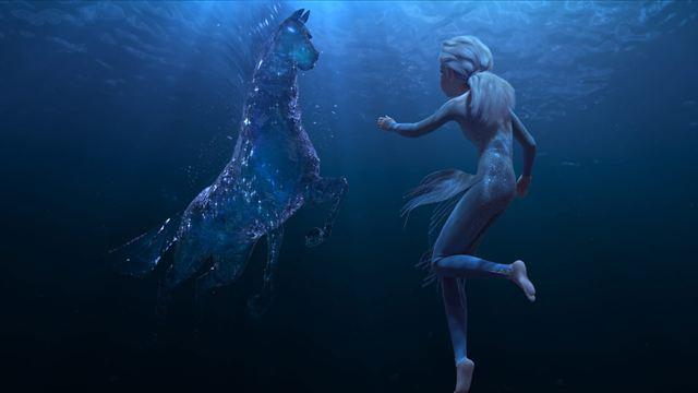 Los espíritus elementales de 'Frozen II' están basados en la mitología