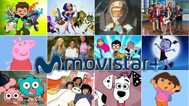 Las mejores series de Movistar+ para niños