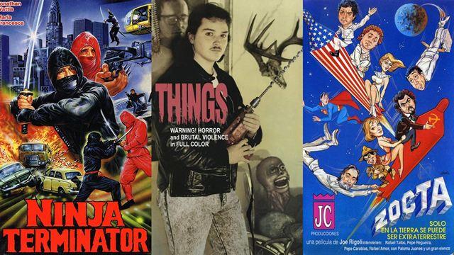 Imaginamos de qué tratan estas películas de 'serie B' por sus carteles