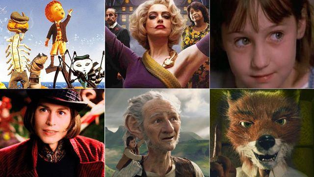 'Las Brujas', 'Matilda', 'Charlie y la fábrica de chocolate'... Películas basadas en libros de Roald Dahl