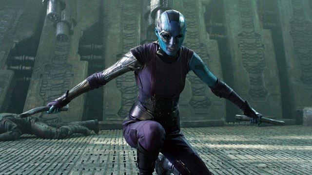 'Thor: Love and Thunder': Nebula y un misterioso hombre azul aparecen en las nuevas imágenes del rodaje