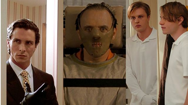 De Haníbal Lecter al protagonista de 'American Psyco' recopilamos los peores psicópatas del cine moderno