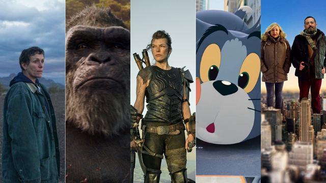 'Nomadland', 'Godzilla vs. Kong' y 'Monster Hunter', entre los estrenos más destacados de este fin de semana